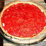 recette tarte aux framboises