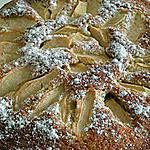 recette gateau pommes et  cannelle