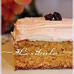 recette Gâteau graham, glaçage au café