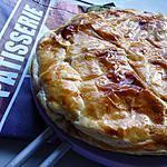 recette Ooo Galette des rois noix de coco/framboises ooO