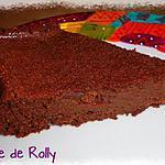 recette Fondant chocolat et beurre de cacahuètes