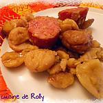 recette Montbéliard aux châtaignes