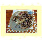 recette Cuisses de lapin aux girolles