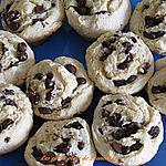 recette Brioches au chocolat,raisin et canelle