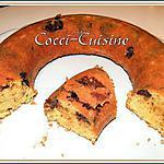 recette Cake marbré citron et chocolat