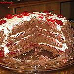 recette Gâteau Forêt-Noire