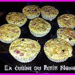 recette Petit Flan De Courgette et Jambon