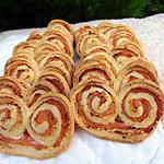 recette Palmiers saumon-boursin