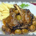 canard aux olives confites