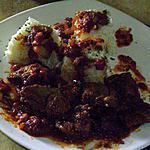 recette sauté d'agneau aux épices
