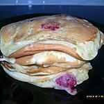 recette pancakes aux framboises (chandeleur)