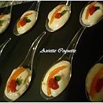 recette Cuillère de mousse de saumon