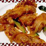 recette Cuisses de grenouilles marinées et sautées façon asiatique