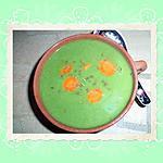 recette Velouté de laitues , carottes et cumin