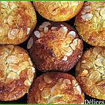 recette Muffins moelleux Poires-Amandes