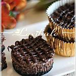 recette Petits gâteaux au fromage, au chocolat et au beurre d'arachide