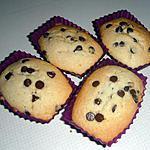 recette financiers aux pépites de chocolat