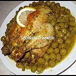 recette Poulet aux olives - Djej Zitoun