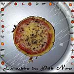 Mini Tarte a la Tomate et Moutarde