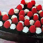 recette Le  Coeur  chocolat-framboise( exerce toi pr la St  Valentin  )