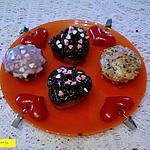 recette cupcake st valentin