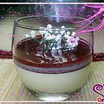 recette panna cotta au chocolat blanc et a la framboise