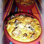 recette Clafoutis aux champignons de Paris
