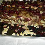 recette Gateau à la semoule et framboises