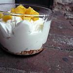 recette Verrines mangues mascarpone