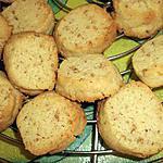 recette Petits biscuits aux graines de sésame et farine d'épeautre