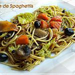 recette Tajine de Spaghettis