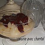 recette compote de poire au chocolat