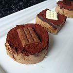 recette Gourmandises spéculoos et deux chocolats
