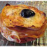 recette Millefeuille de crêpes tomates/mozzarella