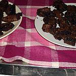 recette brownies à la praline et amandes.