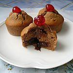 recette petits gâteaux à la crème de marrons coeur fondant au chocolat