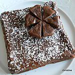 recette Gâteau mousse au chocolat et fêve tonka