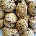 recette Cookies noix & pépites de chocolat