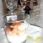 recette Verrine de saumon fumé & oeuf de caille