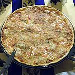 recette pizza  a la vitesse de la lumiere