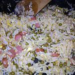 recette riz cantonnais à ma façon