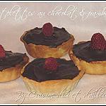 recette Tartelettes au chocolat & framboises