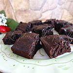 recette Carrés au double chocolat