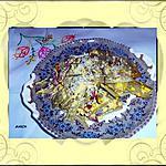 recette Blettes aux allumettes de canard ,  façon carbonara