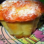 recette Muffins à la mangue et au yaourt de brebis, sans matière grasse!!