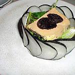recette Charlotte de radis noir au foie gras
