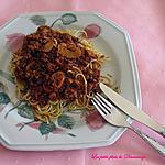 recette Sauce spaghetti à la viande