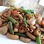 Macaronis chinois au poulet