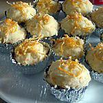 Cupcakes aux amandes avec glaçage à l'orange