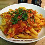 recette Penne sauce au thon (penne al tonno)